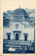-ref-B275- Religions - Jusdaisme - Judaica - Alger - La Grande Synagogue - Synagogues - Algerie - Carte Bon Etat - - Judaisme