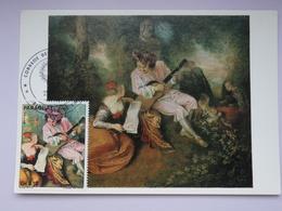 CARTE MAXIMUM CARD  LA GAMME D'AMOUR BY WATTEAU PARAGUAY - Arts
