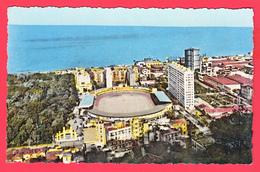CPSM - ALGER -Le Stade Municipal -Jardin D'essai - Groupe HLM Hélène Boucher ** 2 SCANS - Algerien