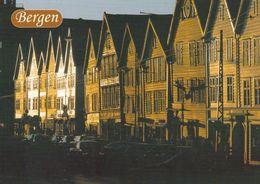 1 AK Norwegen * Bergen - Ansicht Von Bryggen - Seit 1979 UNESCO Weltkulturerbe * - Norwegen