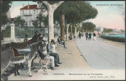 Boulevard De La Croisette, Cannes, C.1910 - Giletta Frères CPA - Cannes