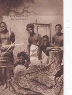 AFRICA ORIENTALE GUERRIERI CUNAMA    AUTENTICA 100% - Cartoline