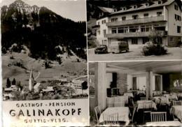Gasthof - Pension Galinakopf, Gurtis, Vlbg. - 3 Bilder * 29. 7. 1965 - Nenzing