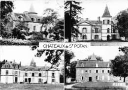 Les Châteaux De ST POTAN - Multivues - CPSM Grand Format - Other Municipalities