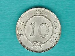 Sarawak - Rajah C V Brooke - 10 Cents - 1920 H - KM15 - Malaysie