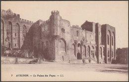 Le Palais De Papes, Avignon, C.1920s - Lévy Et Neurdein CPA LL7 - Avignon (Palais & Pont)