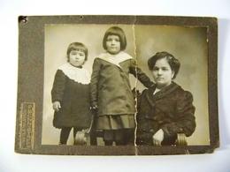 """Fotografia  """"RITRATTO DI MADRE CON BAMBINI  Fotografo G. BUZZICHELLI Colle Val D' Elsa"""" Inzi '900 - Persone Identificate"""
