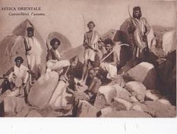AFRICA ORIENTALE CAMMELLIERI CUNAMA    AUTENTICA 100% - Cartoline