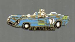PINS PIN'S AUTO MATRA LE MANS 1974 AUTOMOBILE EGF GITANES CIGARETTES - Mercedes