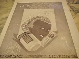 ANCIENNE PUBLICITE PARFUM LA REINE DES CREMES 1931 - Affiches