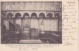 CPA -  Jubé De  L'église De VILLEMAUR (Aube) - France