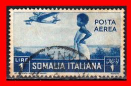 SOMALIA ITALIANA  SELLO AÉREO NATIVA AÑO 1936 - Somalia (1960-...)