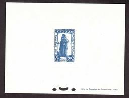 FEZZAN N° 55 EN EPREUVE DE LUXE Côte 40 Euros - Fezzan (1943-1951)