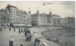 Ostende - Ostende - Les Hôtels De La Digue - Hôtel Du Globe - Hôtel Continental - Nels Série 13 No 99 - 1914 - Oostende
