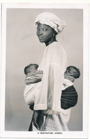 NIGERIA - A Twin Mother - Bébés Jumeaux - Nigeria