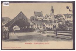 BREMGARTEN - REUSSBRÜCKE - TB - AG Argovie