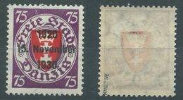 11628 Danzig Nr. 229 ** MNH 140 Euro Michel Sign. Kniep - Dantzig