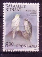 GRÖNLAND MI-NR. 181 ** FALKE - FALCO RUSTICOLUS - Adler & Greifvögel