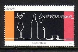 DEUTSCHLAND MI-NR. 2457 ** EUROPA 2005 - GASTRONOMIE - Europa-CEPT