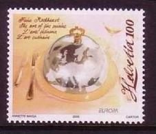 SCHWEIZ MI-NR. 1927 ** EUROPA 2005 - GASTRONOMIE - Europa-CEPT