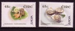 IRLAND MI-NR. 1650-1651 ** EUROPA 2005 - GASTRONOMIE IRISH STEW AUSTERN - Europa-CEPT