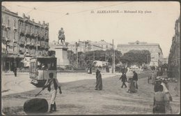 Mohamed Aly Place, Alexandrie, 1917 - Coustoulides CPA - Alexandria