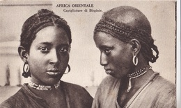 AFRICA ORIENTALE CAPIGLIATURE DI BIRGINIE AUTENTICA 100% - Cartoline