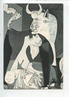 Pablo Picasso 1881/1973 : Guernica - Détail (Madrid) Cp Vierge - Peintures & Tableaux