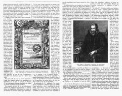 """QUELQUES MOTS  Sur Les  """"  LOGARYTHMES  """"  à Prpos De Leur Tricentenaire   1914 - Autres"""
