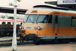 Montluçon RTG  Photo 9 X 13 - Treinen