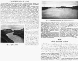 L'OUVERTURE Du CANAL De PANAMA    1914 - Autres