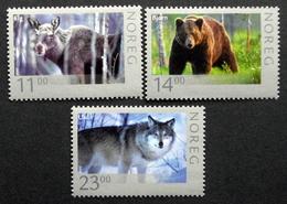 Norway 2008  Wildlife: Moose, Bear, Wolf Minr.1637-39      MNH (**) ( Lot F 1371) - Noruega