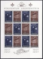 17539....LIECHTENSTEIN Kleinbogen No. 304 + 305OI  * * - Liechtenstein