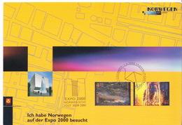 Norway Special Card - 2000 – Hannover (Germania)