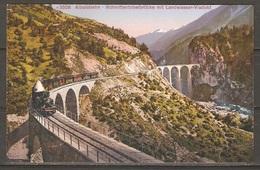 Carte P ( Suisse / Chemin De Fer ) - Trains