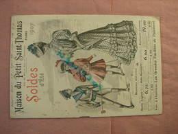 Maison Du Petit St. Thomas 1907 - 1908 - + 4 Pages Malles, Sacs, Salle De Bain, Jeux, Jouets, Fusils Revolvers Ect... - 1900-1940