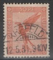Allemagne - YT PA 31 Oblitéré Krefeld 1931 - Luftpost