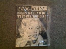 Cover Marilyn Monroe, Noir Et Blanc 1187 Déc 1967 - Journaux - Quotidiens
