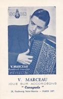 "ACCORDEON   :  V.  MARCEAU  JOUE  SUR  ACCORDEONS   ""  CAVAGNOLA  ""  . - Music And Musicians"