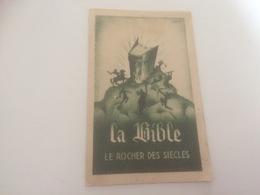 BL - 1200 - LA BIBLE - Le Rocher Des Siècles - Christianisme