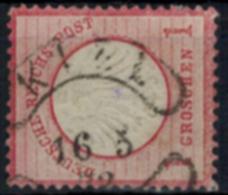 Deutsches Reich 4 Brustschild 1 Gr. Hufeisen Würstchenstempel Kiel - Allemagne