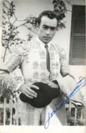 Corrida - Toreador Avec Autographe - Torero Jose .... Tauromachie - Stierkampf