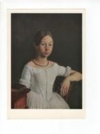 04913 Russia Artist Soroka Portrait Millukova Lady With Amber Beads - Paintings
