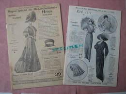 Maison Du Petit St. Thomas Catalogue Hiver 1907/08- Et été 1912  BE - 1900-1940