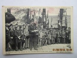 CPA 56 LE FAOUET Discours Général De L'air  WEIS  Inauguration Du Monument De L'enfant Soldat JEAN CORENTIN CARRE - Le Faouet