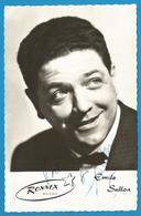 (A949) - Signature / Dédicace / Autographe Original - Emile SULLON - Chanteur Belge - Autographs