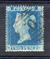 Grande Bretagne 1854 ; N° Y: 9 ; Ob; D 16 ,fil. Petite Cour. Sans Défauts; Cote Y  : 110.00 E. - 1840-1901 (Viktoria)
