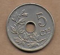 5 Centimes 1906 FR Superbe - 1865-1909: Leopold II
