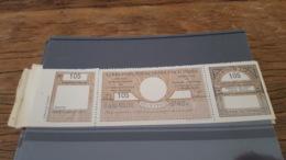 LOT 434602 TIMBRE DE FRANCE NEUF** LUXE POSTAUX PARIS POUR PARIS N°48 VALEUR 65 EUROS - Parcel Post