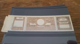 LOT 434605 TIMBRE DE FRANCE NEUF** LUXE POSTAUX PARIS POUR PARIS N°48 VALEUR 65 EUROS - Parcel Post